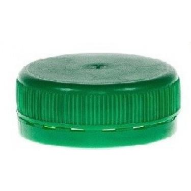 Nakrętka do butelki PET Kwadratowej 38 Zielona 1szt